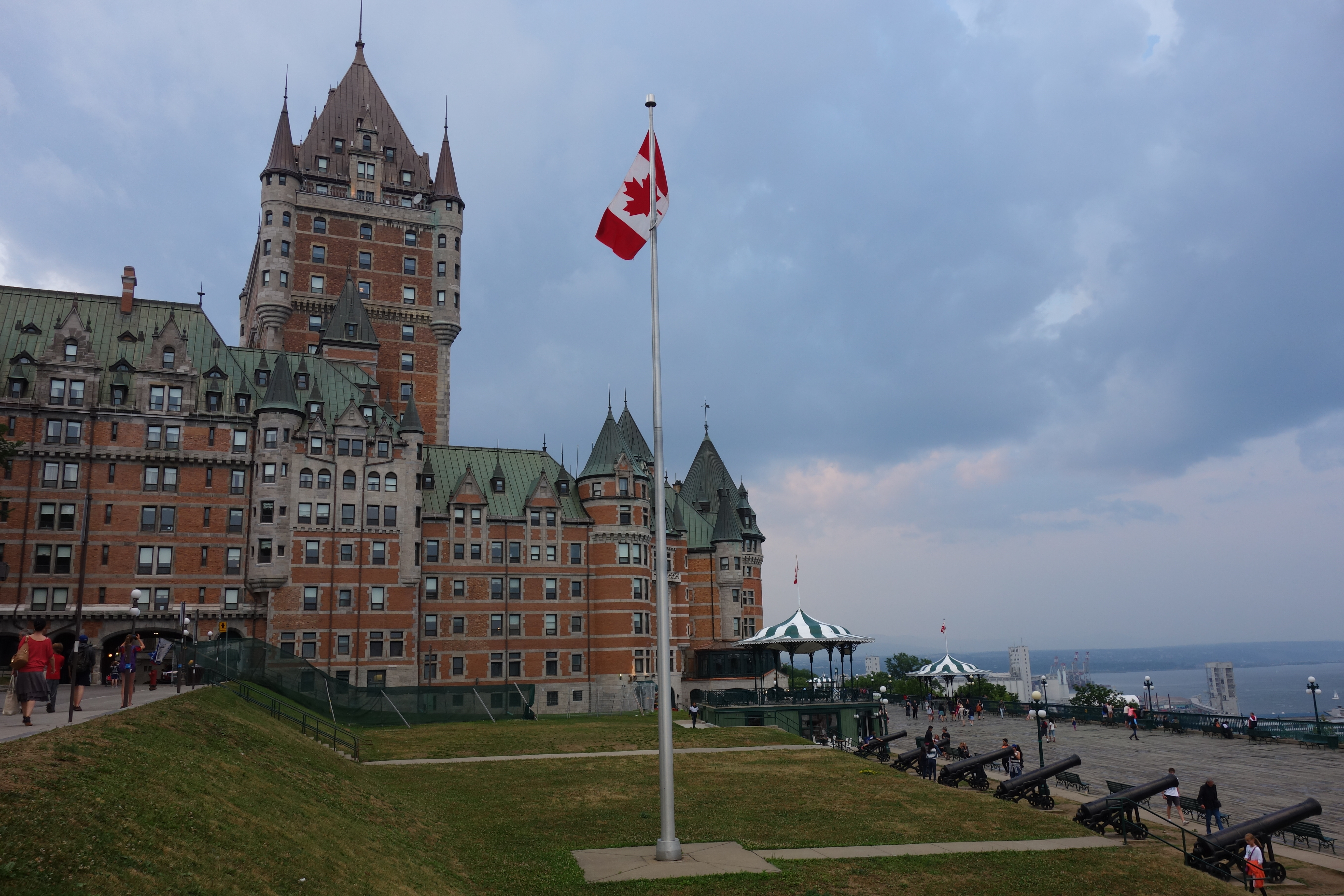 Day 2 – Newark to Quebec City